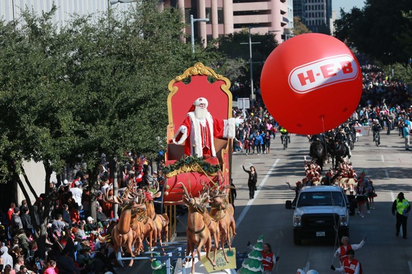 Thanksgiving Parade in Houston