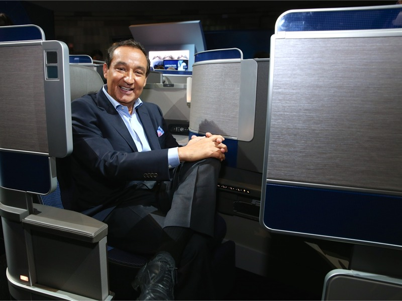 United CEO at United POLARIS presentation
