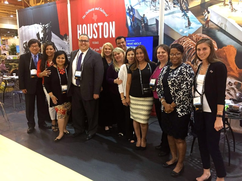 VISIT HOUSTON delegates at IPW 2016