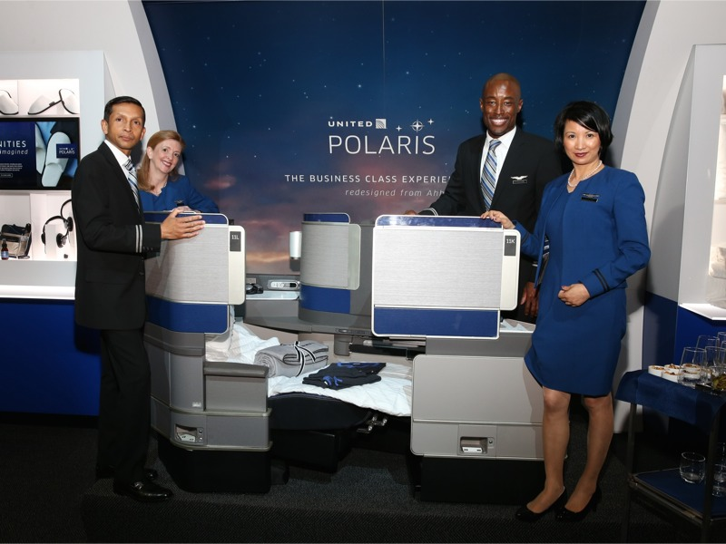 United POLARIS - totally new Business Class experience
