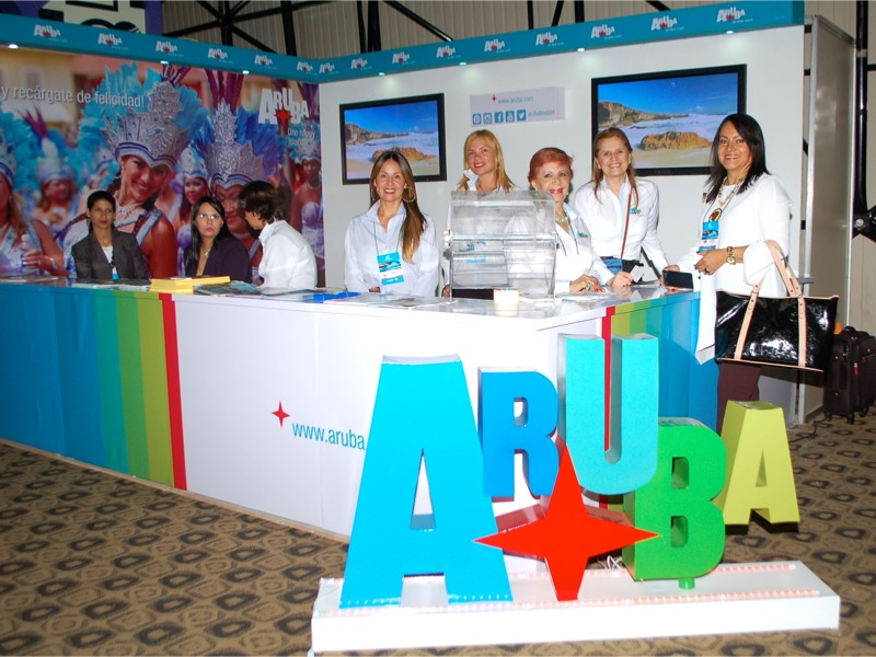 Aruba Tourism Authority promoting One Happy Island in LATAM