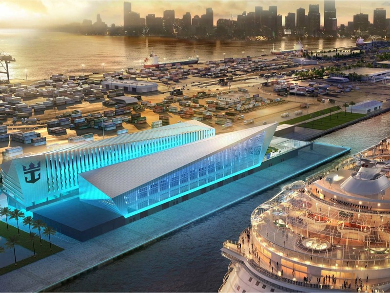 New Royal Caribbean Terminal will be built at PortMiami