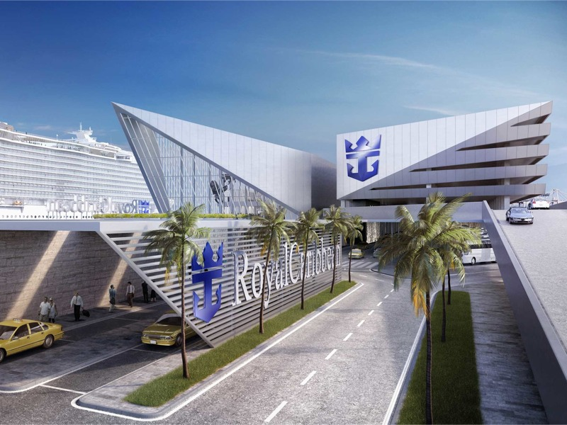 Broadway Malyan is designing the new Royal Caribbean Terminal in Miami