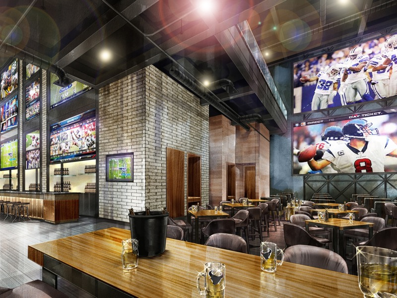 Sports Bar at Marriott Marquis Houston
