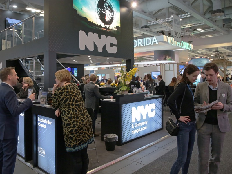 New York City and VISIT FLORIDA at ITB Berlin 2017
